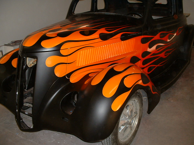 custom flame painting paint gallery kustom flames at its
